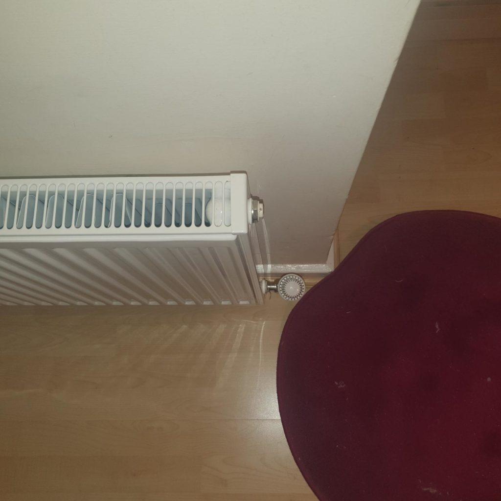 radiator in room